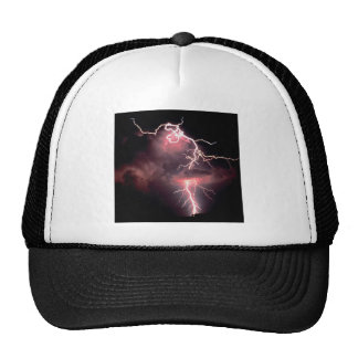 Sky Electric Evening Trucker Hats
