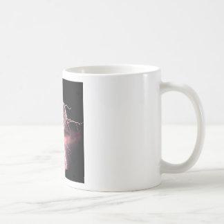 Sky Electric Evening Lightning Coffee Mugs