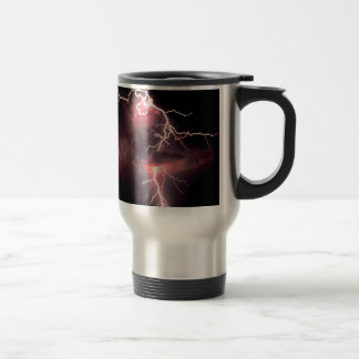 Sky Electric Evening Lightning Mugs