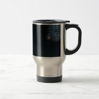 Sky Firework Night Coffee Mugs