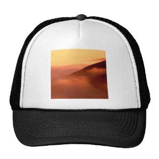 Sky Fog Coastal Hills Mendocino California Trucker Hat