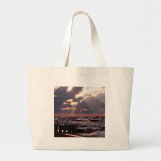 Sky Frantic Waves Lake Michigan Bags