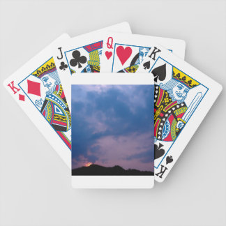 Sky Gloomy Purple Setting Card Deck