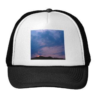 Sky Gloomy Purple Setting Hat