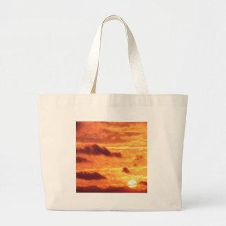 Sky Golden Glow Bags