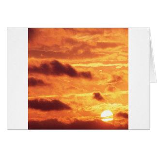 Sky Golden Glow Cards