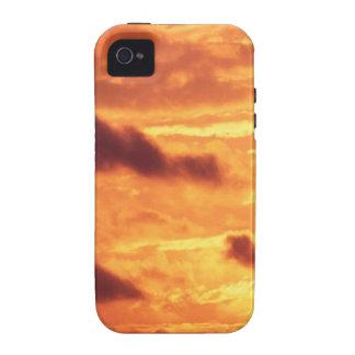 Sky Golden Glow iPhone 4 Cases