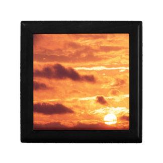 Sky Golden Glow Keepsake Box