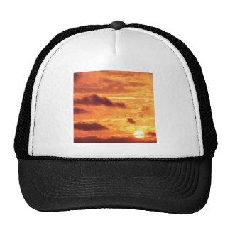 Sky Golden Glow Hat