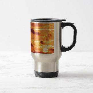 Sky Golden Glow Coffee Mugs