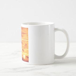 Sky Golden Glow Percy Warner Tennessee Basic White Mug