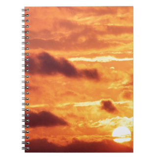 Sky Golden Glow Percy Warner Tennessee Note Books