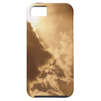 Sky Golden Glow Shines iPhone 5 Covers