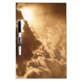 Sky Golden Glow Shines Dry Erase Whiteboards