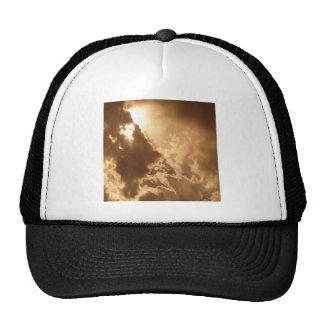 Sky Golden Glow Shines Hats