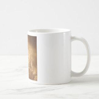 Sky Golden Glow Shines Coffee Mugs