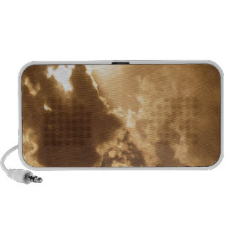 Sky Golden Glow Shines Mini Speakers