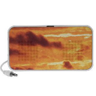 Sky Golden Glow iPod Speakers