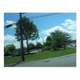SKY Green Nature NewJersey CherryHill USA scenery Postcard
