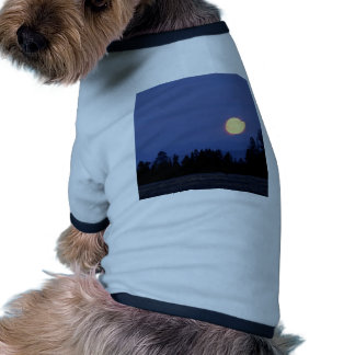 Sky Harvest Moon Wyoming Dog Shirt