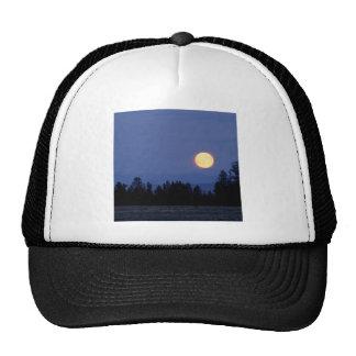 Sky Harvest Moon Wyoming Mesh Hats