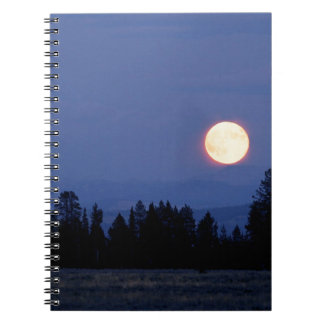Sky Harvest Moon Wyoming Note Book