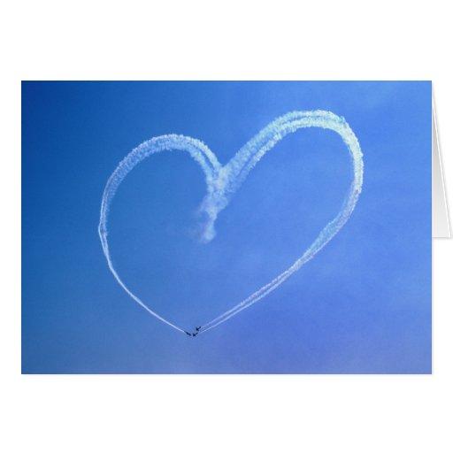 Sky Heart Note Card