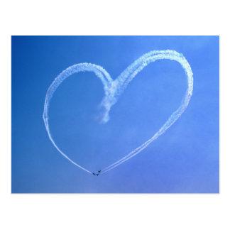 Sky Heart Postcard