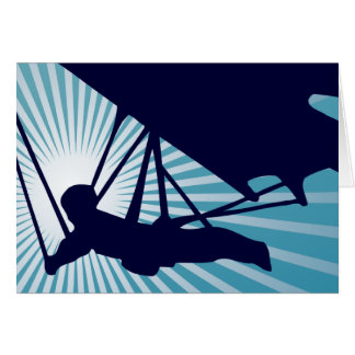 sky high hang gliding card