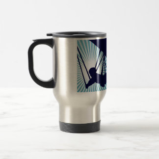 sky high hang gliding stainless steel travel mug