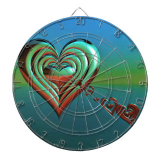 Sky High Hearts Dartboard