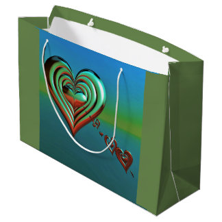 Sky High Hearts Large Gift Bag