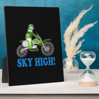 Sky High Plaque