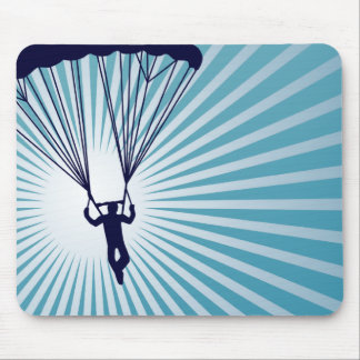 sky high skydiving mouse mat