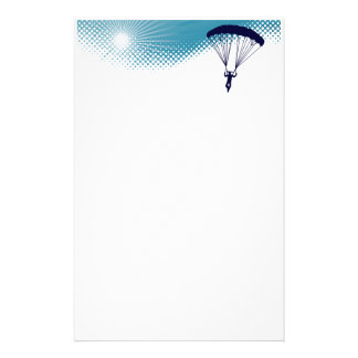 sky high skydiving stationery