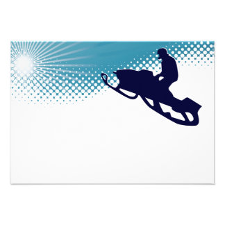 sky high snowmobile custom invites