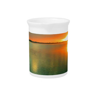 Sky High Sunset Pitcher