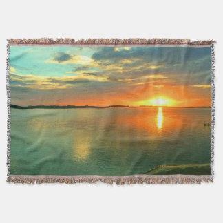 Sky High Sunset Throw Blanket
