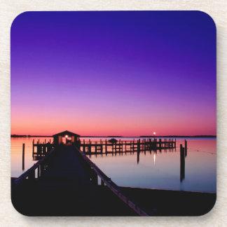 Sky Hyannisport Harbor Glow Coasters