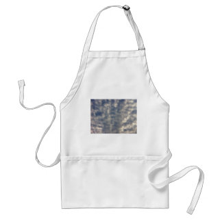 Sky images with ruffled soft clouds apron