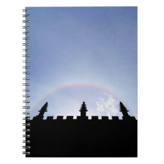 Sky Is The Limit Sun Halo Oxford Inspirational Spiral Notebook