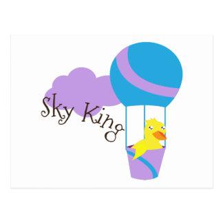 Sky King Postcard