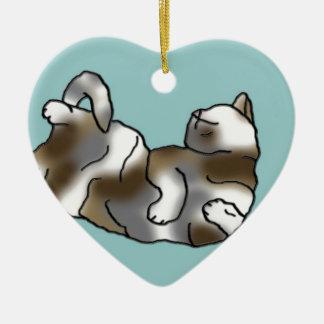Sky Lounger Ceramic Heart Decoration