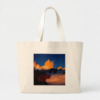Sky Mount Fitzroy At Night Tote Bag