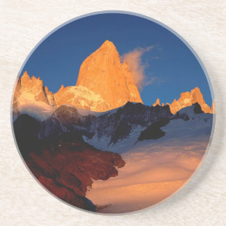 Sky Mount Fitzroy At Night Drink Coasters