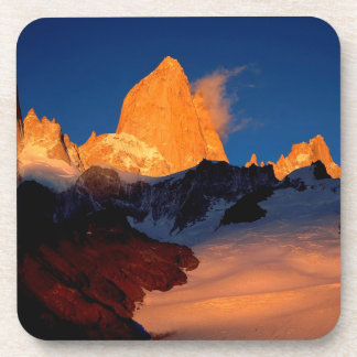 Sky Mount Fitzroy At Night Coasters