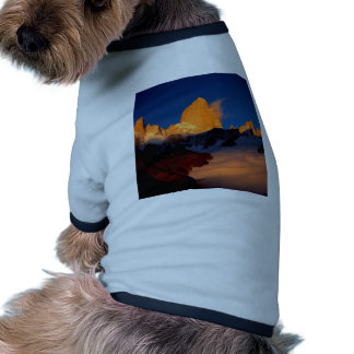 Sky Mount Fitzroy At Night Pet Clothing