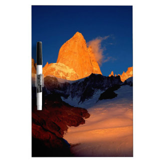 Sky Mount Fitzroy At Night Dry-Erase Board