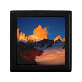 Sky Mount Fitzroy At Night Jewelry Box