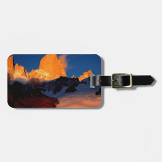 Sky Mount Fitzroy At Night Luggage Tags